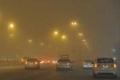 سماء الرياض وبعض المناطق في السعودية تشهد عاصمة رملية شديدة......والأجواء حمراء