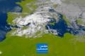الأقمار الصناعية الليلة: السحب الركامية قادمة بقوة في الساعات القادمة وتجد ضالتها في فلسطين