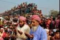بالصور والفيديو... «بيشوا» ثاني أكبر تجمع للمسلمين بعد الحج الاكبر