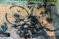 كارثة الدراجة.. تركوها في الشاحن فأحرقت بيتا ضخما