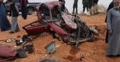 بالصور.. حادث سير مروع في الأردن يودي بحياة 6 أشخاص