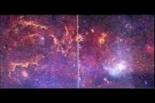 """""""ناسا"""" تنشر لأول مرة """"سيمفونية"""" تعزفها مجرة درب التبانة مع ..."""