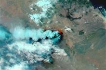 زلزال يضرب منطقه قريبه من بركان nabro وطقس فلسطين يتابع ...