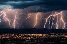 صواعق أبدية وهزات لم تتوقف منذ قرن ونصف وأمطار تواصلت ...
