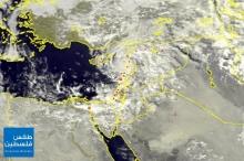 الأقمار الصناعية عصر اليوم ترصد تجدد الهطولات المطرية خلال الساعات ...