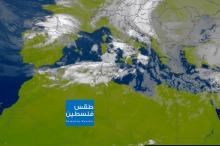 صور الأقمار الصناعية : كميات ضخمة من الغيوم الركامية ...