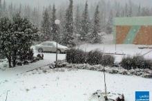 في مثل هذا اليوم عام 2004 ..الثلوج تغطي جبال فلسطين ...