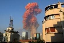 غمامة بلون الدم أطلقها انفجار بيروت.. تعرف على أكسيد النيتروجين ...