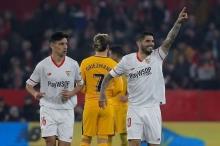 بالفيديو.. إشبيلية يقصي أتلتيكو مدريد من كأس الملك