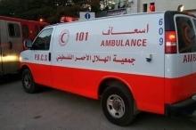 وفاة مواطن بحادث سير قرب نابلس