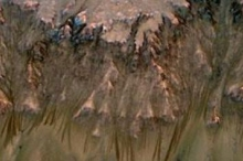 مياه مالحة على سطح المريخ