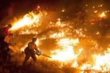 إخلاء ألف منزل بسبب حرائق الغابات فى أسبانيا