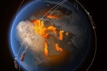 العلماء في حيرة.. المنخفض المغناطيسي جنوب الأطلسي يزداد اتساعا