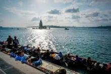 """إسطنبول تودع """"جلسة الشاي"""" الشهيرة عند برج الفتاة"""