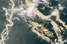 أنهار من الذهب..كاميرا فضائية تكشف ما يحدث في الأمازون