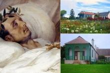 نابليون كما ظهر بعد ساعات من موته بالسرطان منذ 200 ...