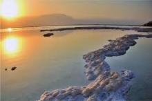 العثور على مواد طبيعة في البحر الميت يمكن أن تحدث ...
