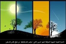 طقس فلسطين يصدر النشرة الشهرية لشهر تشرين الثاني / نوفمبر ...