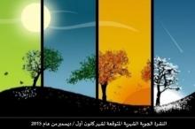 طقس فلسطين يصدر النشرة الشهرية لشهر كانون أول / ديسمبر ...