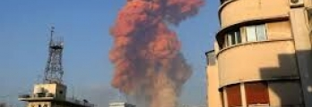 غمامة بلون الدم أطلقها انفجار بيروت.. تعرف على أكسيد النيتروجين الأحمر ...
