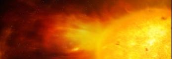 عاصفة شمسية تطلق جسيمات بسرعة 1.8 مليون كم/الساعة متجهة قرب الأرض!