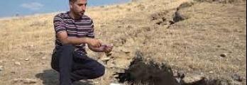 في حالة غريبة.. تلة في كردستان العراق تنشطر إلى نصفين وتخرج هواء باردا ...
