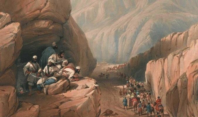 قبل 180 عاما.. أبيد آلاف البريطانيين أثناء انسحابهم من كابل
