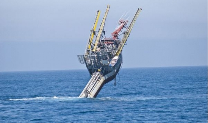 شاهد الصور: أغرب سفينة في العالم: تتحول من سفينة الى منصة أبحاث بـ 30 دقيقة