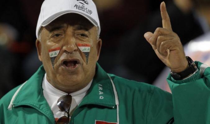 وفاة أشهر مشجع عراقي