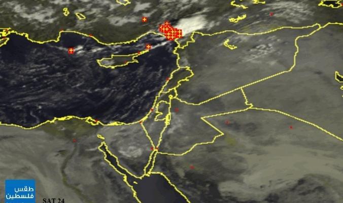 أمطار غزيرة رعدية على مشارف شمال غرب بلاد الشام | 18/9/2014