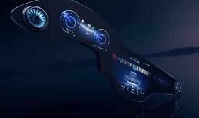 استخدمت فيها الذكاء الاصطناعي.. بالفيديو: مرسيدس تعرض شاشة سياراتها المنافسة لتسلا