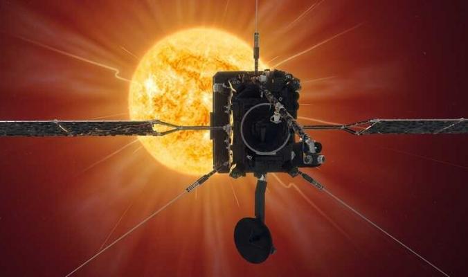 """""""قطع نصف المسافة"""".. """"سولار أوربيتر"""" يستعد لالتقاط أقرب صورة للشمس"""