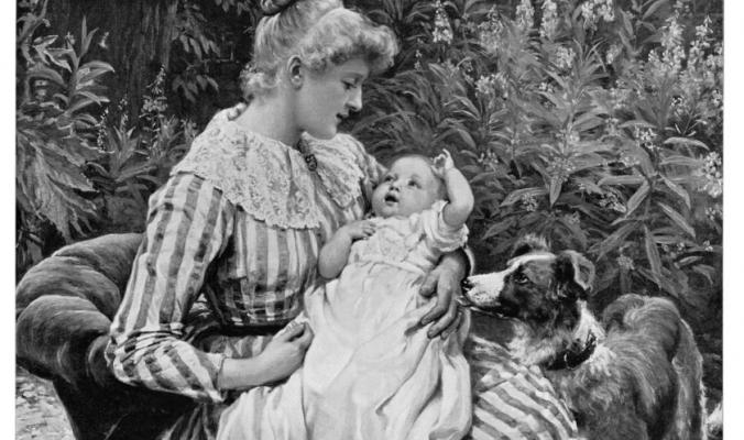 الأمومة عبر التاريخ.. بهذه الطرق اعتنت المرأة بأطفالها وتنبأت بنوع الجنين
