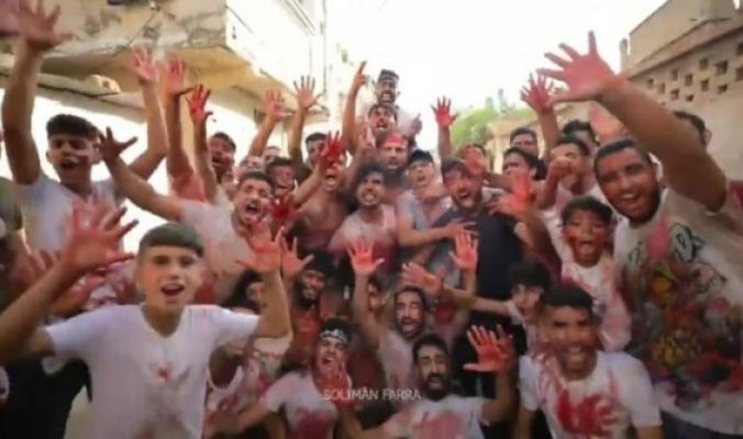ممارسات غريبة خلال ذبح أضاحي بغزة.. وردود أفعال مستنكرة
