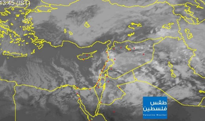 مستجدات الحالة الجوية ... نشرة الظهيرة