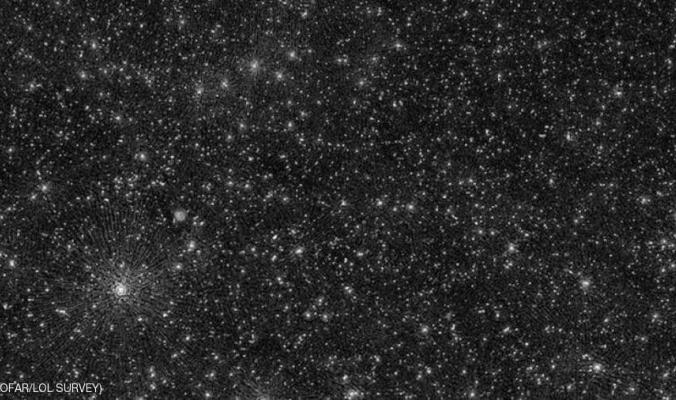 """للمرة الأولى.. علماء يكتشفون """"غموض"""" النقاط البيضاء بالفضاء"""