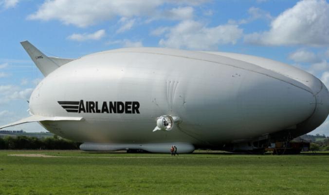 """الكشف عن داخل أكبر """"منطاد بمحرك"""" في العالم بصور مذهلة!"""