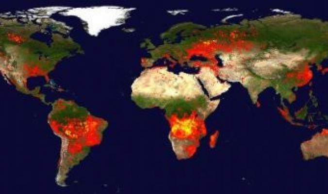 العالم يحترق