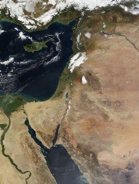 الأقمار الصناعيه اليوم الثلاثاء 15/1/2013