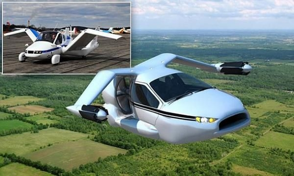 بمليون شيكل.. بالصور.. السيارة الطائرة بالأسواق بداية عام 2015