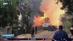 حرائق هائلة تهدِّد قرى يونانية بتحويلها إلى رماد.. الرياح تضاعف سرعتها ومخاوف من كارثة (فيديو)