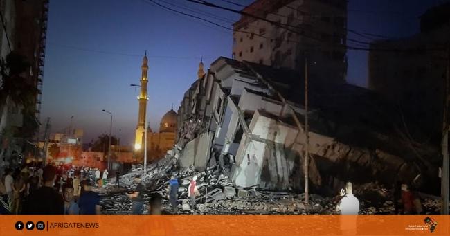 الأدمغة النازية الجديدة تقترف محرقة بشرية وبيئية شاملة في قطاع غزة