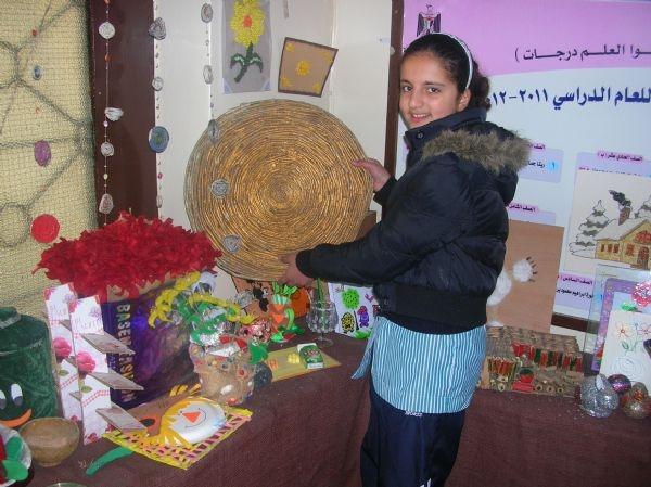 مدرسة عزيز شاهين تدور مخلفات البيئة لفنون جميلة.. والقدس في بداية الطريق