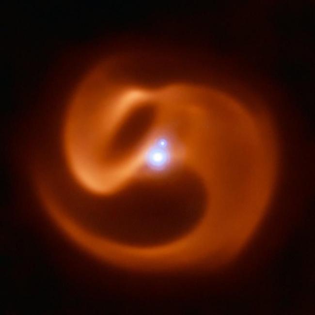 هذا النجم الدوار شبيه الثعبان قد يفجر أشعة غاما في درب التبانة عندما يموت
