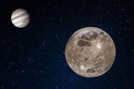 اكتشاف بخار ماء فوق غانيميد أحد أكبر أقمار المشتري