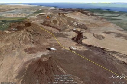 طقس فلسطين:احتمال وصول سحابه الرماد البركاني الى جنوب فلسطين فجر يوم غدا