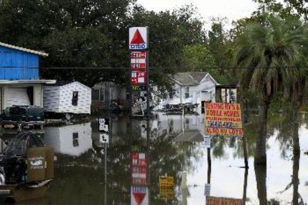 هطول أمطار غزيرة على ولايات الغرب الأوسط الأمريكية المنكوبة بالجفاف