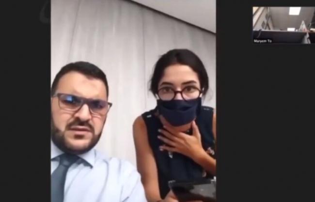 المذيعة انهارت والضيف أصيب بذهول.. فيديو صادم للحظة تفجير بيروت سجلته BBC خلال مقابلة