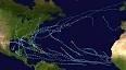 أعاصير استوائية متوالية على المحيط الأطلسي قد تجعل 2020 العام الأسوأ