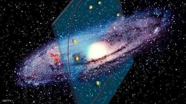 """اكتشاف علمي مذهل عن مجرتنا """"درب التبانة"""""""